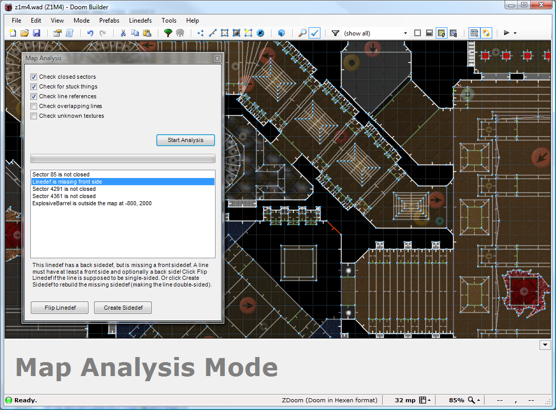 Doom Builder Map Editor